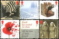 Great Britain - First World War - Mint set 6v