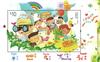 Hong Kong - Børnefrimærker 2017 - Postfrisk miniark