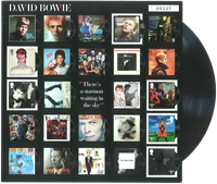 Great Britain - David Bowie Album A Fan - Mint sheetlet sold out on the issue date