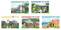 Danemark - Maisons de vacances - Série neuve 5v