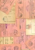 Finlande - 50 étiquettes colis postaux