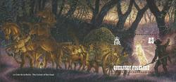 Guernsey - Gamle fortællinger - Postfrisk miniark