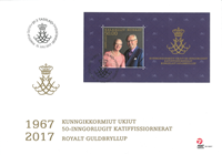 Greenland - Golden wedding S/S FDC - First Day Cover