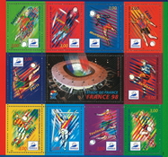 Frankrig - YT nr. 19 - Postfrisk miniark