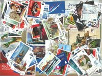 Jersey - 86 different stamps and 8 souvenir sheets