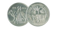 Islandsk mønt 874-1974 500 Fimm Hundrud kronur