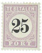 Surinam 1886-1888 - NVPH P5 - Neuf avec charnière