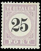 Suriname 1886-1888 - NVPH P5 - ubrugt