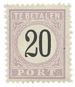Suriname 1886-1888 - NVPH P4 - ubrugt