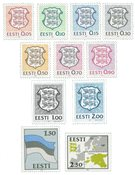 Estonia - The first two sets mint