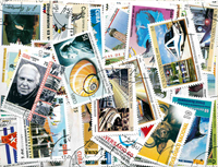 Cuba - 300 diff. stamps