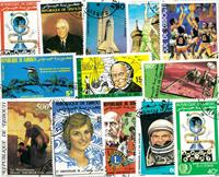 Djibouti - 33 forsk. frimærker