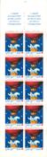 Francia 1996 - YT 2045 (3039a) - carnet de la Cruz  Roja