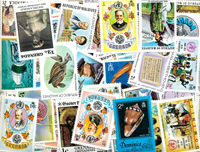 Britiske kolonier - 293 forskellige frimærker