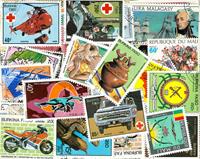 Tidl. franske kolonier - 78 forsk. frimærker