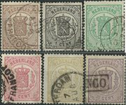 Pays-Bas - 1869-71