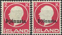 Islande - Service - 1922