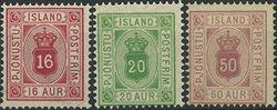 Islande - Service - 1876-95