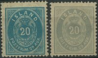 Islande - 1882