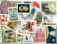 Ungarn - 400 forsk. frimærker