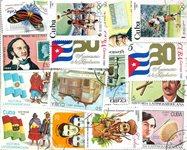 Cuba - 164 frimærker i kompl. sæt