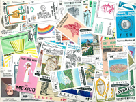 Mexique - 250 timbres diff. neufs