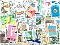 Mexico - 250 forskellige postfriske frimærker