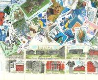 Finlande - 150 timbres diff.