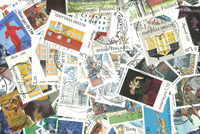 Finland - stamps from booklets and blocks only