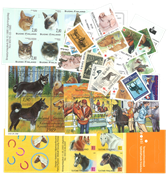 Finland - 21 Postzegels, 2 velletje og 2 boekjes, postfris