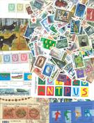Finland - 367 forskellige frimærker