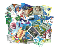 Finland - 50 diff. stamps 2010-2013