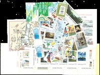 Finland - 80 forsk. frimærker 1979-1999