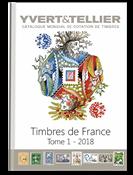 Yvert & Tellier frimærkekatalog - Frankrig 2018