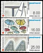 Danemark - Exposition Nordia 2017 au Danemark - Série neuve timbres d'expo