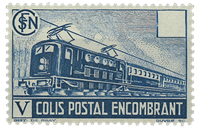 Frankrig - YT nr. 182 - pakkeporto