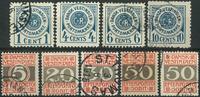 Dansk Vestindien-Porto-1902-05