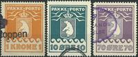 Grønland - Pakkeporto -1933-37