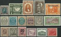 Island - Samling - 1875-1987