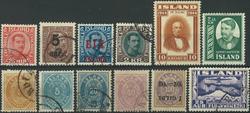 Island - Samling - 1875-1974