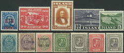 Island - Samling - 1875-1983