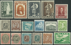Island - Samling - 1882-1977