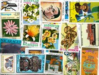 Nicaragua - 273 timbres diff.
