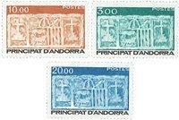 Andorre francais YT 335-37