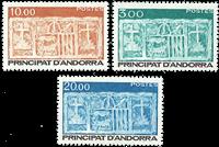 Fransk Andorra -  YT 335-37