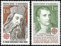 Fransk Andorra -  YT 284-85