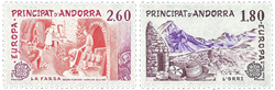Andorre francais YT 313-14
