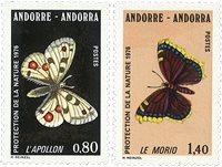 Andorre francais - YT 258-59 - Neuf