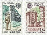 Andorre francais YT 276-77