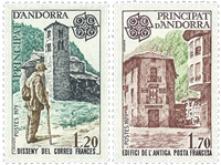 Fransk Andorra -  YT 276-77